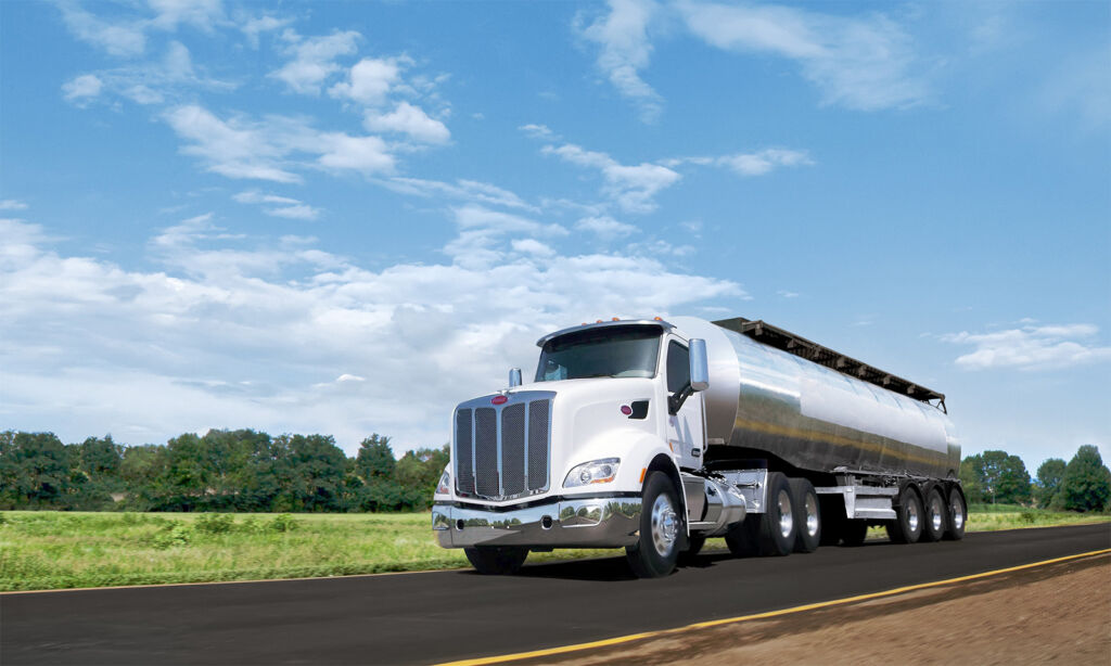 loop tanker truck on road
