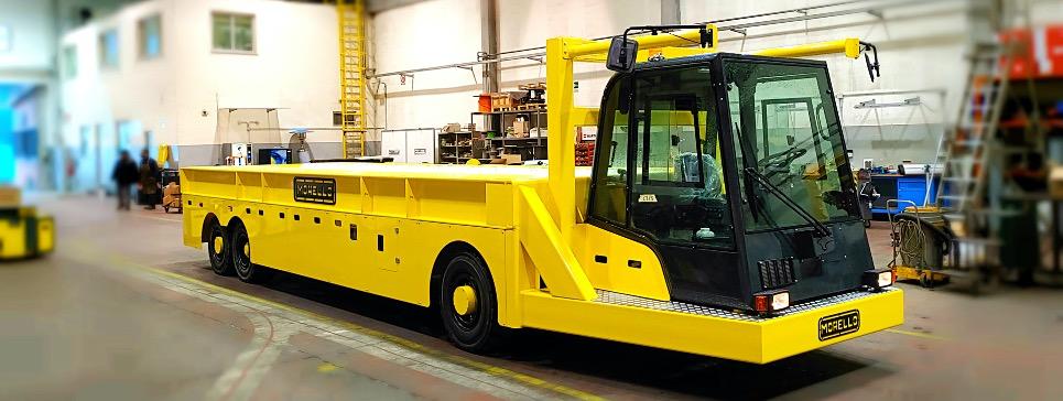 morello heavy duty tractor truck
